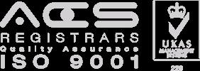 ACS Registrars ISO 9001 logo